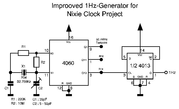 My Nixie Clock Project